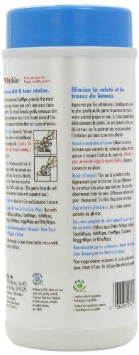Petkin Jumbo Eye Wipes, Pack of 80 (pack of 4) 4