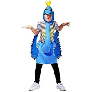 Sea Hare Flamingo Kostüm für Kinder (Einheitsgröße) (Blau)