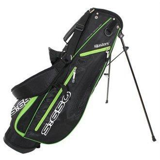 57313e9727deae Masters Golf S:650 Stand Bag Black/Green - Lite-Flex Technology