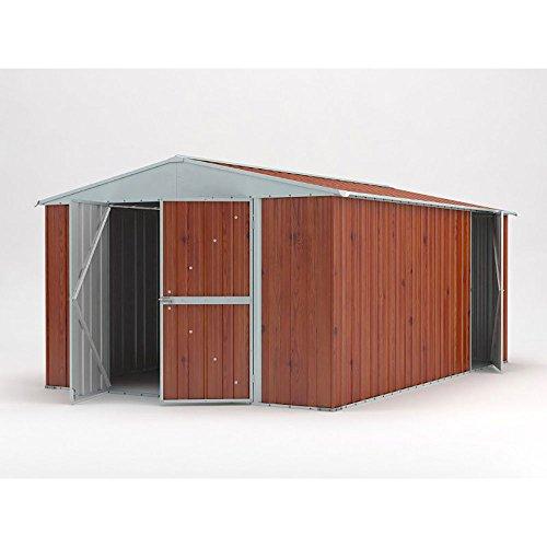 box in legno per attrezzi giardino