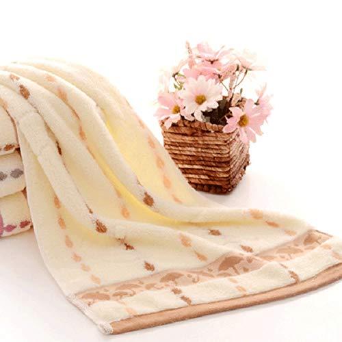dfsgrfvf Handtuch 2 stücke 100% Baumwolle kleine Regenschirm dot Gesicht Towel hohe qualität 34 * 74 cm Gesicht Towel 6 Farben erhältlich weiches saugfähiges Towel Geschenk, Gezeigt 6,1pcs74x34cm