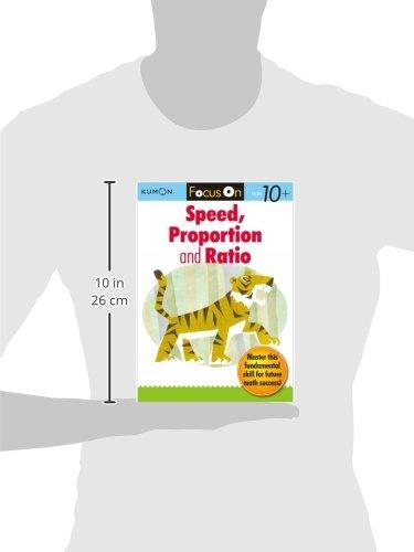 Focus On Velocity, Proportion & Rat (Kumon Focus Workbooks)