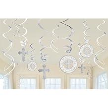 Amscan International - Accesorios decorativos para comunión (12 unidades)