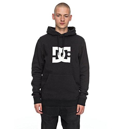 Fleece-screen-print Sweatshirt (DC Shoes Herren Screen Fleece STAR PH M OTLR schwarz, XL)