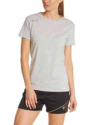 Kempa Damen T-Shirt Core Grau Mélange, S