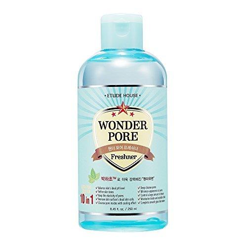 Etude House Wonder Pore Freshener 250ml - Latest Version (10 in 1 Ultra Pore Solution) by ETUDE HOUSE (Etude Pore House)