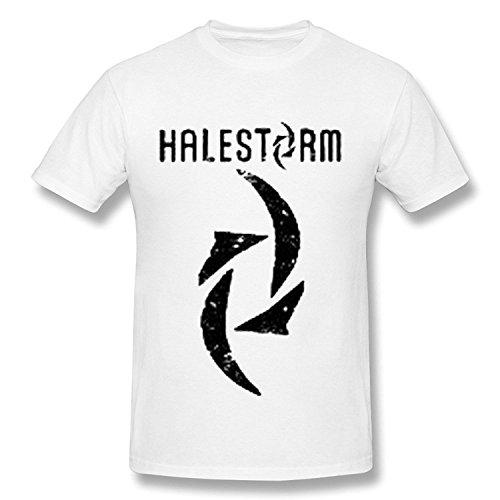 Halestorm World Tour 2016 T Shirt For Men White