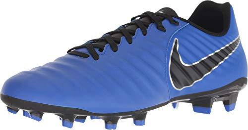NIKE Unisex-Erwachsene Legend 7 Academy FG Fußballschuhe, Blau (Racer Blue/Black/MTLC Silver 400), 44.5 EU