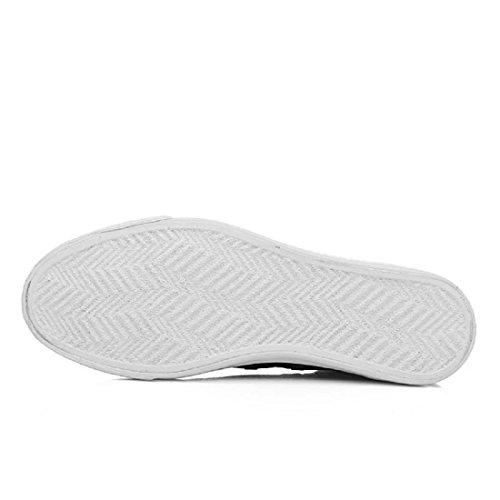 Uomo Il nuovo Moda Scarpe sportive Antiscivolo Scarpe da corsa formatori Asakuchi Ballerine Scarpe da ginnastica euro DIMENSIONE 39-44 gray