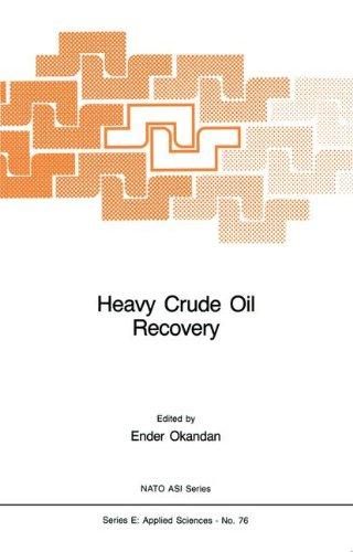 Heavy Crude Oil Recovery (Nato Science Series E:)