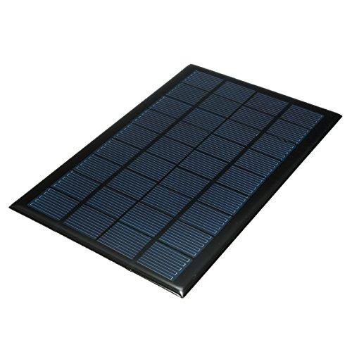 ILS - 3W 9V Epoxy Monocrystalline Solar Panels Welded Cable For Low-power Appliances Appliance Rocker Switch