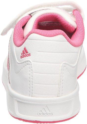 adidas Unisex-Kinder Lk Trainer 4 Cf K Sneaker Weiß - Blanc (V23082)