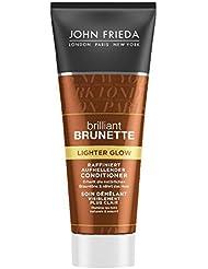 John Frieda Brilliant Brunette Lighter Glow Après-shampoing de 50ml