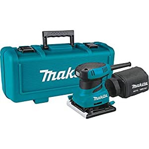 Makita BO4556K Lijadora Orbital 112X102Mm, 200 W, 230 V, Multicolor