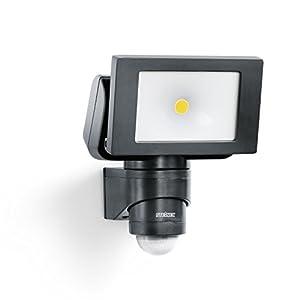 Steinel LED Außenstrahler LS 150 schwarz, 240° Bewegungsmelder,  max. 12 m Reichweite, 20.5 W, Schwenkbar, 1760 Lumen, 4000 K