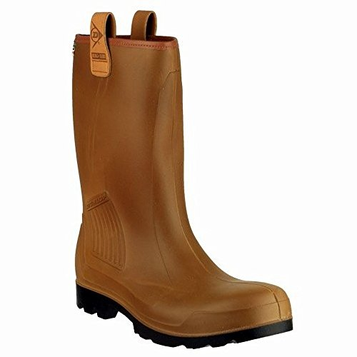 Dunlop S5 Gummistiefel C462743 Braun. 44, Stivali di Gomma Unisex-Adulto Marrone