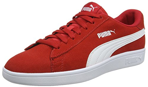 Puma Unisex-Erwachsene Smash V2 Sneaker, Rot (Ribbon Red -