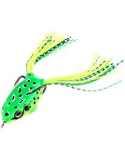 Vodool 1pc 40mm/5.5g Soft Ray Frog Fishing Lure Artificial Bait w/Barbed Hooks
