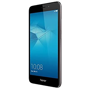 Honor 5C Smartphone Grey (5.2 inch FHD, Metal, Touchscreen, DualSIM, MicroSD, Octa-Core, 2GB RAM, 16GB ROM, 13MP rear camera, 8MP front camera, Android v6.0, EmotionUI 4.1)