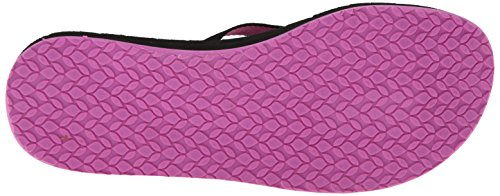Reef  REEF SWELLS, Tongs pour femme - Multicolore - Mehrfarbig Multicolore - Mehrfarbig (BLACK/PURPLE / BLP)