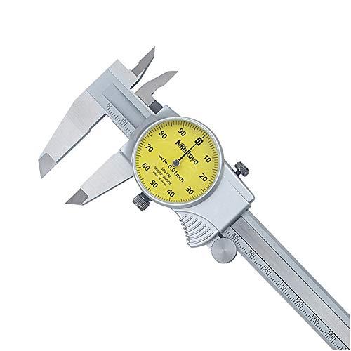 WEREWTR 100% Original Mitutoyo 0-150mm/0.01 Dial Caliper 505-732 Stainless Steel Vernier Calipers Micrometer Measuring Tools,0-150 - Digital Dial Caliper