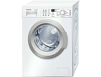 Bosch WAQ28321FF Autonome Charge avant 8kg 1400tr/min A+++-30% Blanc machine à laver - machines à laver (Autonome, Charge avant, Blanc, Gauche, LED, 58 L)