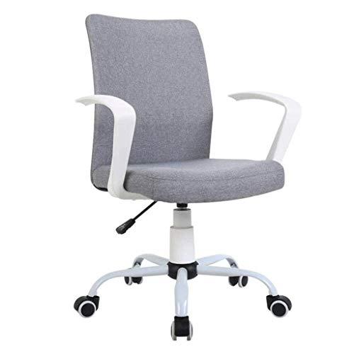 LXDYZ Bürostuhl - Ergonomische Verstellbarer Bürostuhl mit Lendenwirbelstütze und Inlineskaten Räder hoher Rückenlehne mit atmungsaktivem Mesh (Color : Gray)
