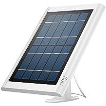 Ring Panel Solar para Spotlight Cam Battery y Stick Up Cam Battery, mantenga su batería siempre cargada, blanco