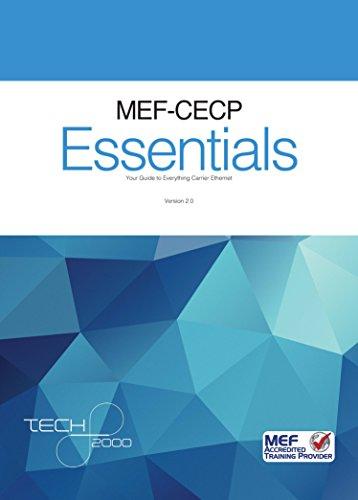 Mef the best amazon price in savemoney mef cecp 20 essentials for carrier ethernet 20 ce 20 professionals malvernweather Choice Image