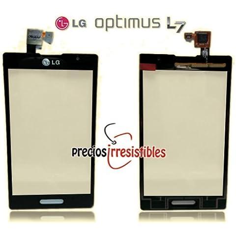 Pantalla (Cristal + Panel Tactil) para LG Optimus L7 (P700) Negro