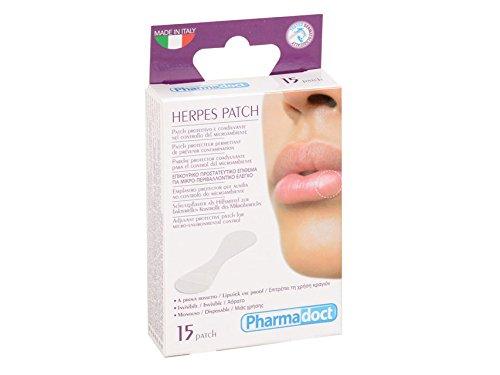 Pharmadoct Herpes Patch, 1 Packung von 12 Boxen X 15 Stück
