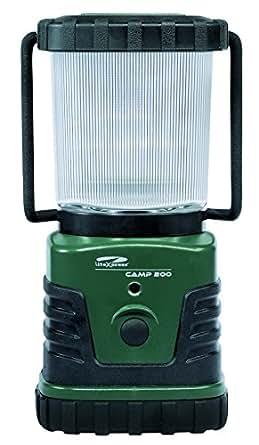 Litexpress Camp 200 Lanterne de camping 3 LED forte puissance Puissance d'éclairage jusqu'à 300 lm Boîtier plastique Standard ANSI