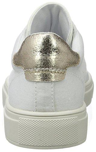 Esprit Sandrine Lu, Sneakers Basses Femme Blanc (100 White)