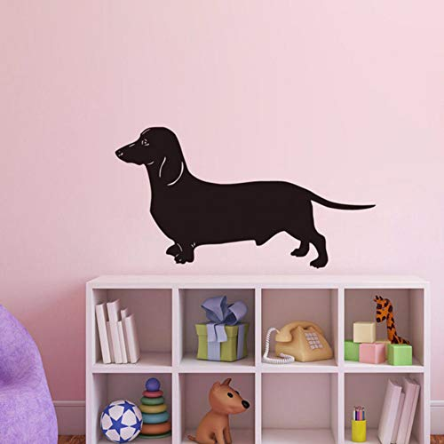 Pbldb 59X31 Cm Dackel Hund Wandaufkleber Beliebtesten Tapete Wohnzimmer Vinyl Abnehmbare Tier Wohnkultur