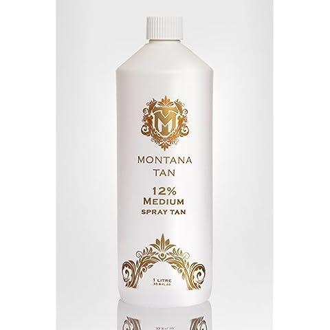 Montana Tan 12% di DHA spruzzare soluzione abbronzatura. Falso istante Tan. 1 litro