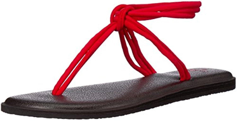 Sanuk Wouomo Yoga Sunshine Sandal, Tomato, 11 M US | Buona Reputazione Over The World  | Uomo/Donne Scarpa