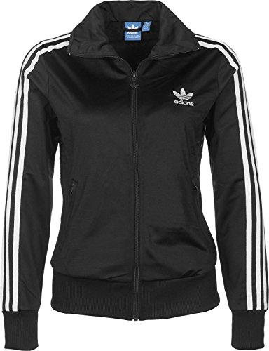 Adidas Firebird Tt, Felpa Donna, Nero, 36