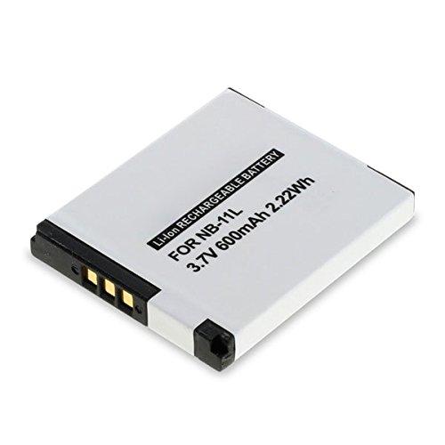 subtel® Akku kompatibel mit Canon PowerShot SX430 is SX420 SX410 SX400 SX432 A2500 A2300 IXUS 285 HS 275 190 180 185 175 170 160 155 145 132 130 125, Elph 110 600mAh NB-11L -11LH Ersatzakku Batterie