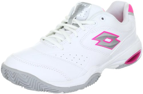 lotto-sport-ariel-w-sports-shoes-tennis-womens-white-weiss-wht05-silver-n-size-65-40-eu