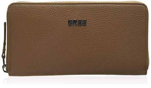 BREE Collection Damen Nola New 101, Tan, Combi. Purse Grain. Geldbörse, Braun, 2x10x12 cm