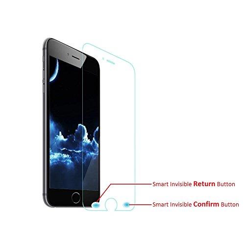 cyxus High Definition (HD) klar, 9H Premium gehärtetes Glas Film Displayschutzfolie für Apple iPhone 6/Apple iPhone 6s (4.7'') Filter-anti Glare Screen Protector