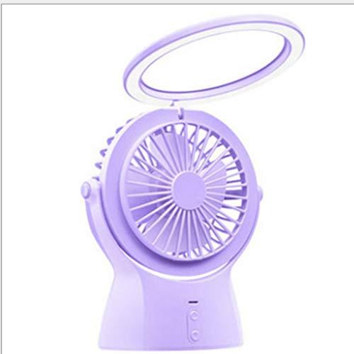 lifeifei Multifunktions-Mini-Fan, USB, Das Aufladen Von Nachtlicht, Akku Mit Großer Kapazität, Schlafzimmer, Büro-rechner-d