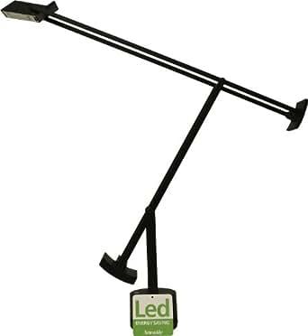 Artemide Tizio LED - Lampe de bureau, noir laqué 3000K 400lm