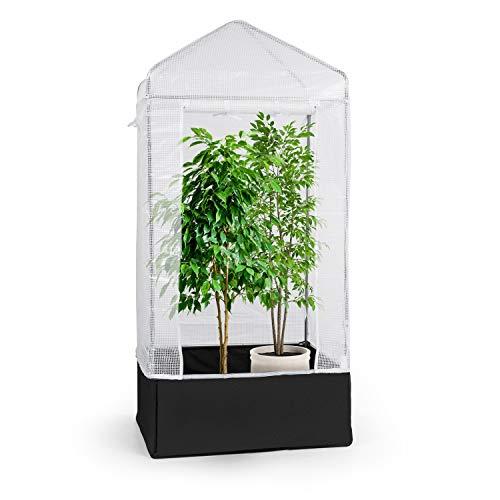 Waldbeck plant palace x1 - pellicola per serra, serra, struttura tubolare in acciaio zincato Ø25mm, pellicola in pvc a griglia: antistrappo, traslucido, resistente ai raggi uv e impermeabile.