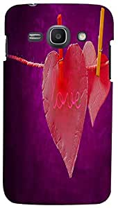 PrintVisa Love Case Cover for Samsung Galaxy Ace 3
