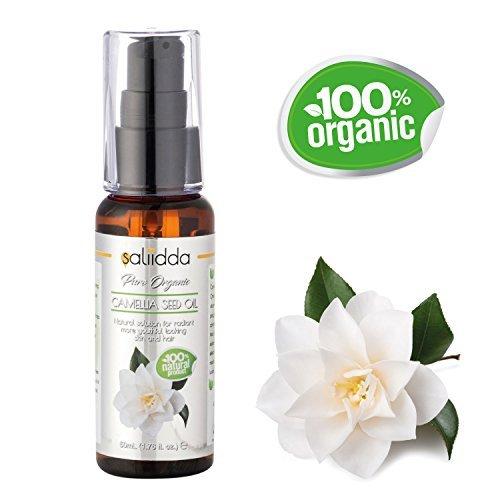 Orgánico aceite de semilla de camelia Saliidda - 100% puro y natural