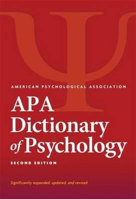 [ { APA Dictionary of Psychology (Revised) } ] BY ( Author ) Feb-2015 [ Hardcover ]