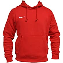 NIKE Team Club Hoody Veste à capuche Homme Rouge 658498 657, Taille:L