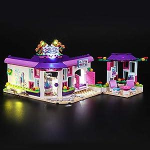 BRIKSMAX Kit di Illuminazione a LED per Lego Friends Il caffè degli Artisti di Emma, Compatibile con Il Modello Lego…  LEGO