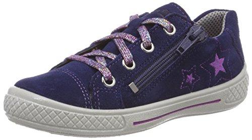 Superfit Mädchen Tensy Sneaker, Blau (Blau 80), 32 EU